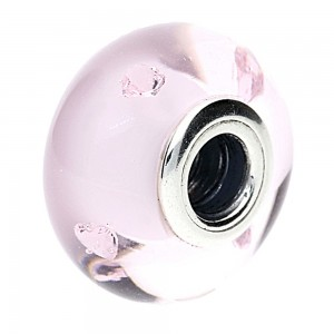 Pandora Beads Murano Glass Pink Pink Charm Jewelry