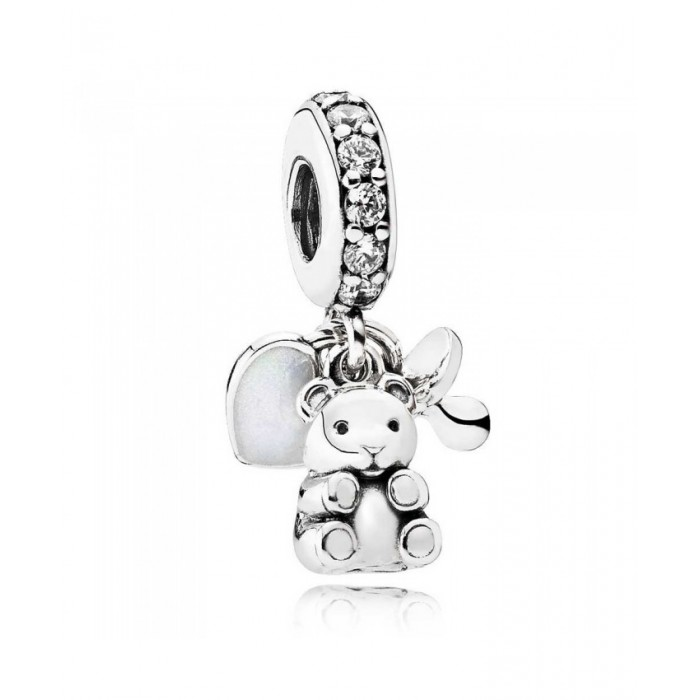 Pandora Charm Baby Treasures Dropper Baby CZ Jewelry