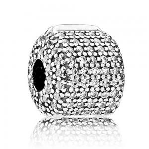 Pandora Clips Barrel Sterling Silver Jewelry