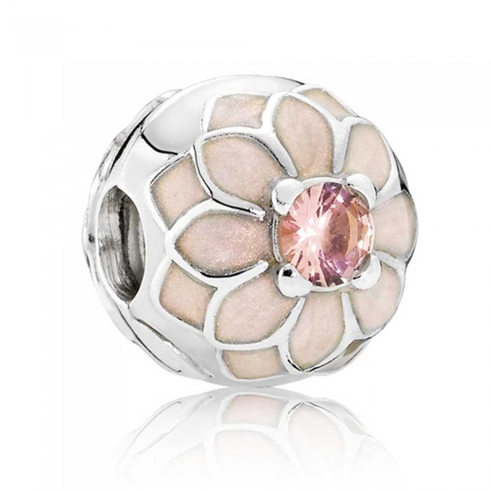 Pandora Clips Blooming Dahlia Floral Jewelry