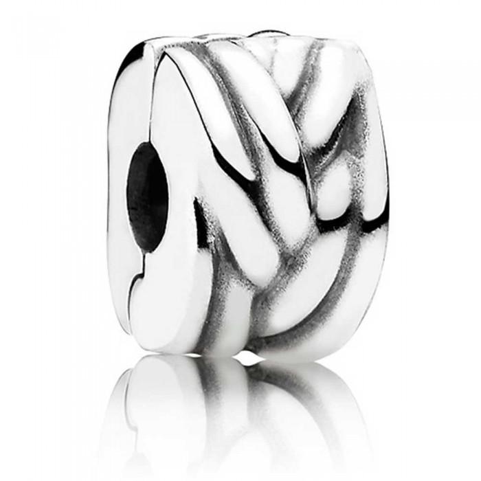 Pandora Clips Braided 925 Silver Jewelry
