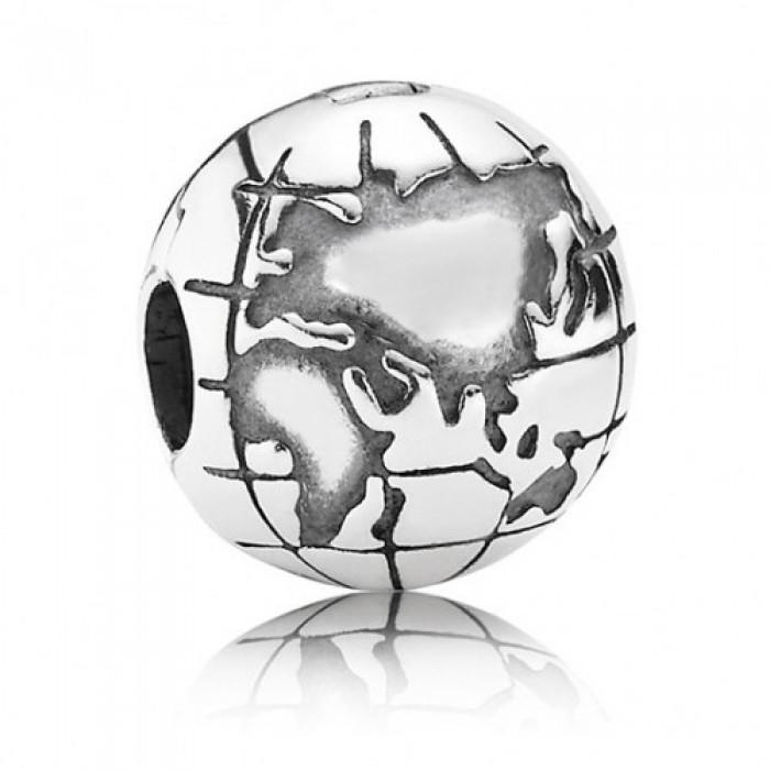 Pandora Clips Globe Travel Jewelry