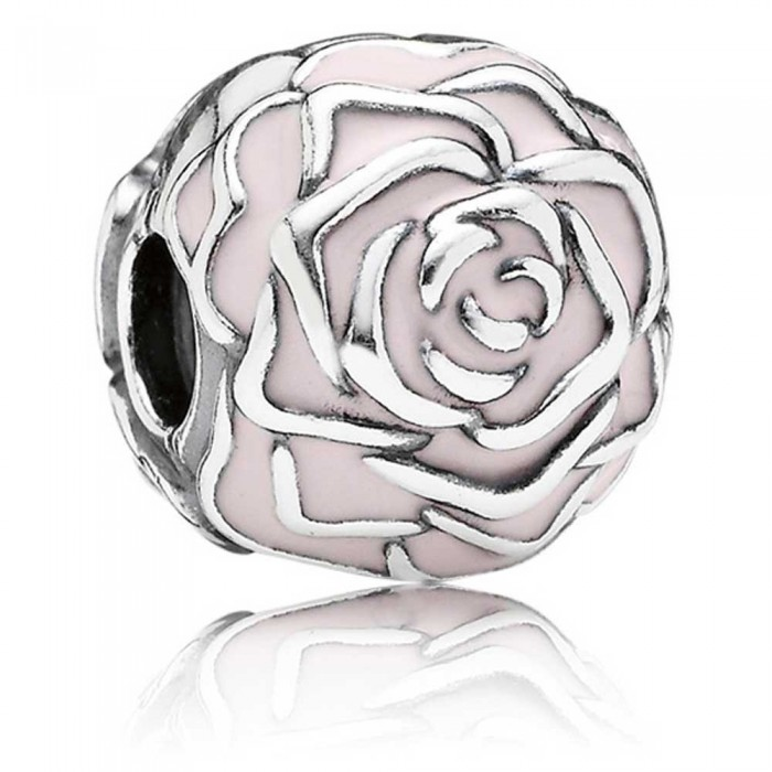 Pandora Clips Pink Rose Floral Rose Jewelry