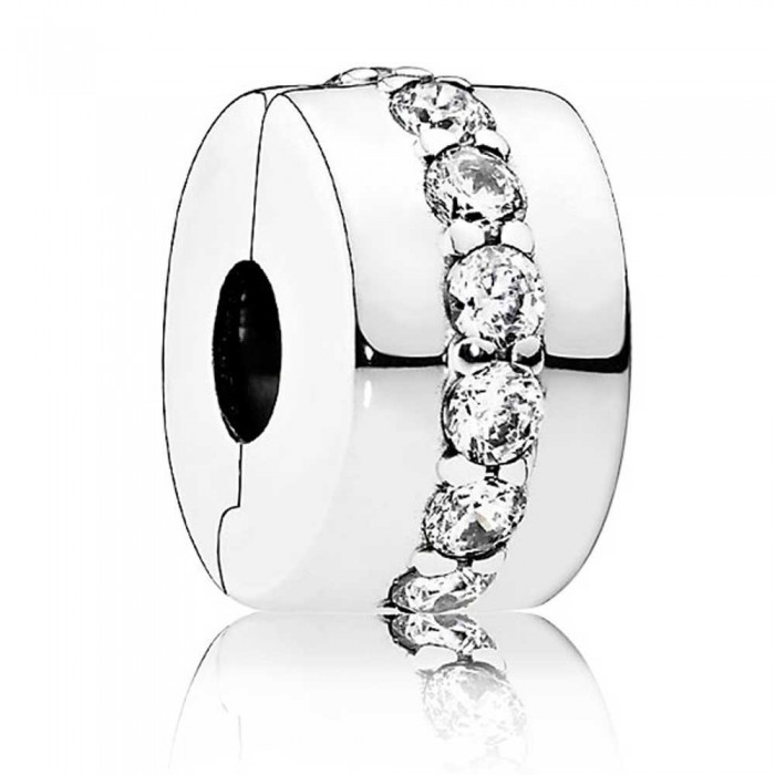 Pandora Clips Shining Line Jewelry
