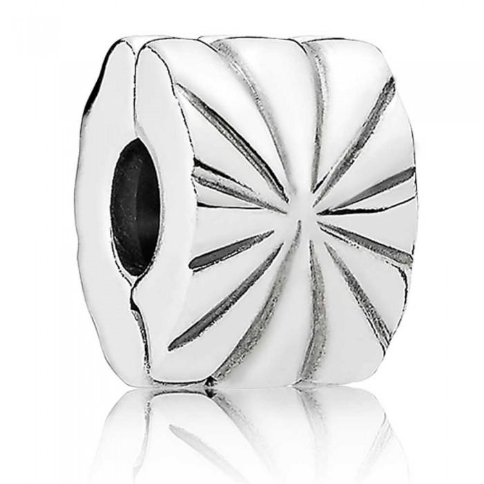 Pandora Clips Silver Starburst Jewelry