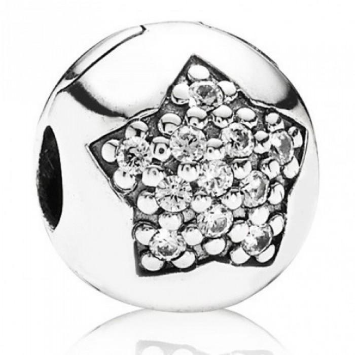 Pandora Clips Star Silver Jewelry