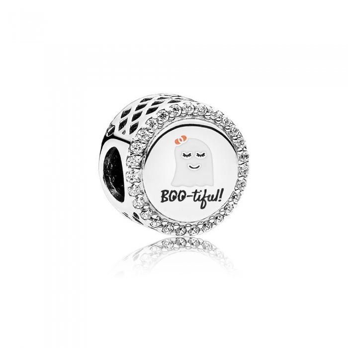 Pandora Charm Bootiful Mixed Enamel Clear CZ Jewelry