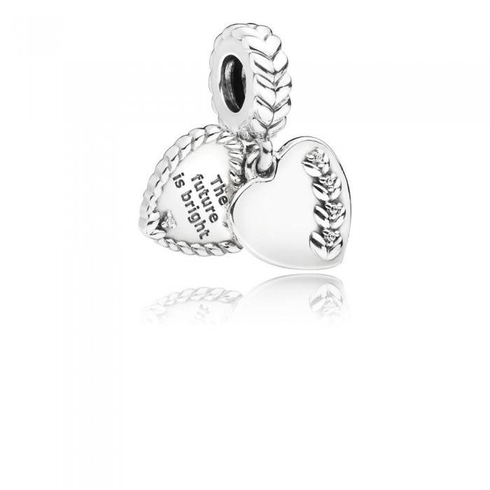 Pandora Charm Bright Seeds Dangle Clear CZ Jewelry