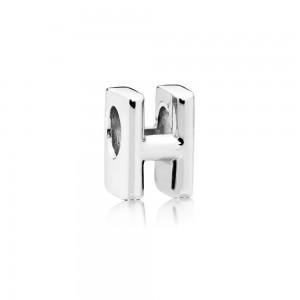 Pandora Charm Letter H Jewelry