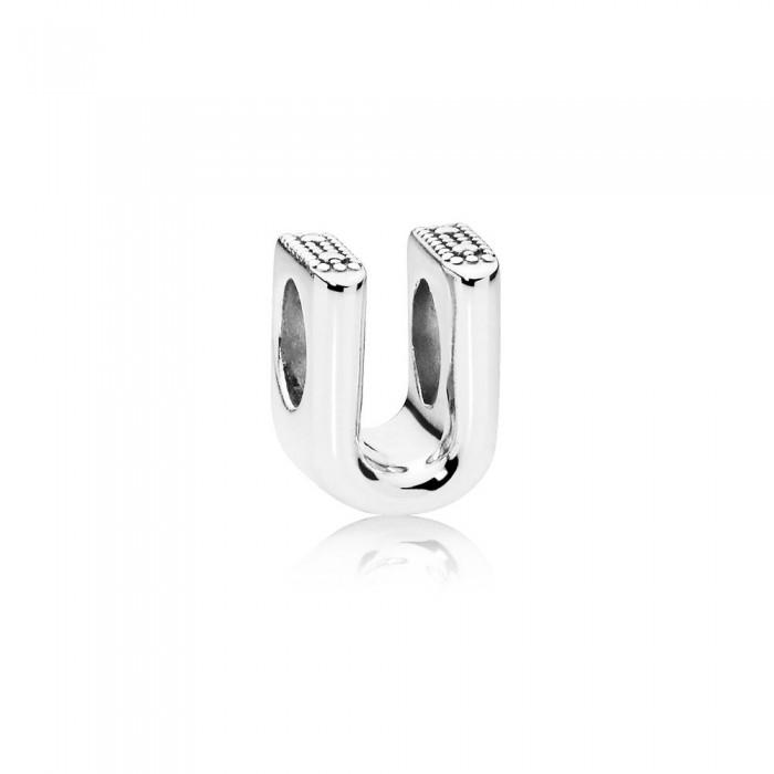Pandora Charm Letter U Jewelry