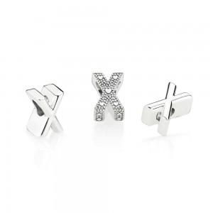 Pandora Charm Letter X Jewelry