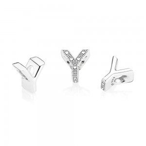 Pandora Charm Letter Y Jewelry
