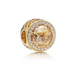 Pandora Charm Radiant Hearts Shine Multi Colored CZ Jewelry