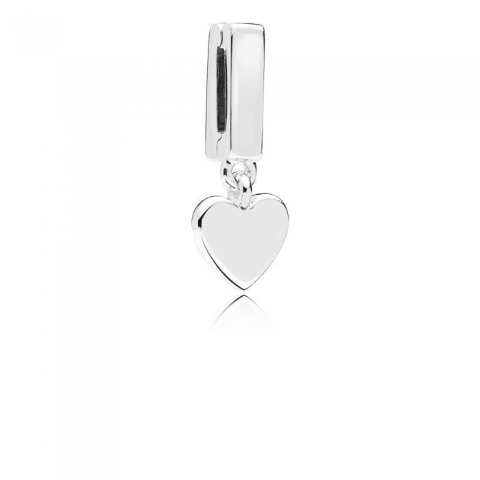 Pandora Charm Reflexions Floating Heart Clip Jewelry