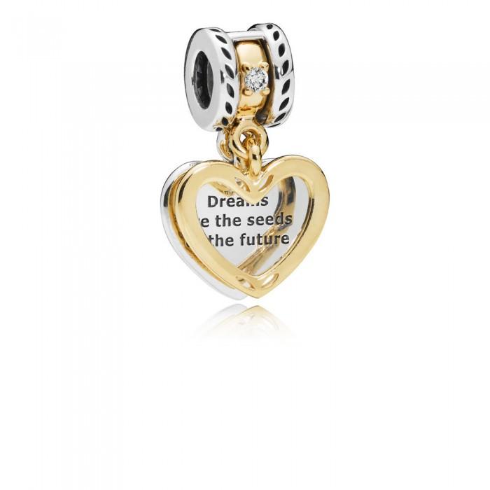 Pandora Charm Seeds of the Future Dangle Clear CZ Jewelry