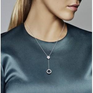 Pandora Necklace Signature Clear CZ Jewelry