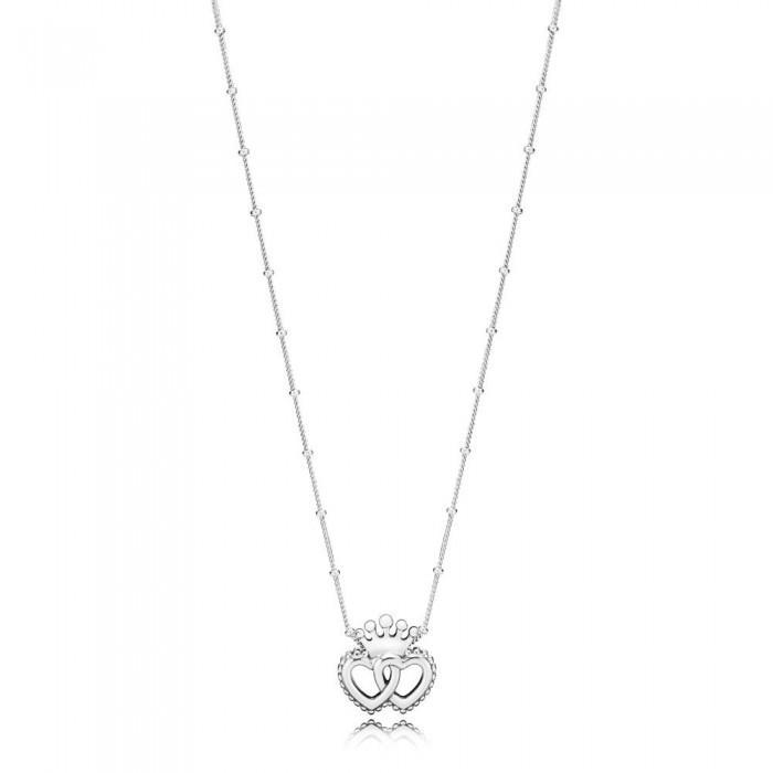 Pandora Necklace United Regal Hearts Jewelry