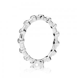 Pandora Ring Dazzling Dots Clear CZ Jewelry