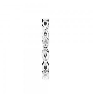 Pandora Ring Eternal Marquise Clear CZ Jewelry