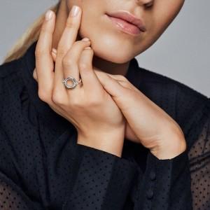 Pandora Ring Floating Locket Jewelry