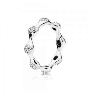 Pandora Ring Modern LovePods Clear CZ Jewelry