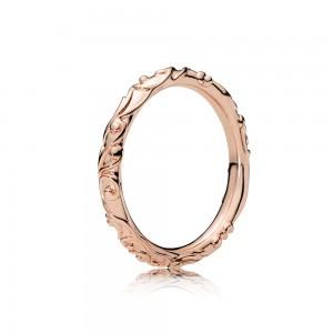 Pandora Ring Regal Beauty Rose Jewelry
