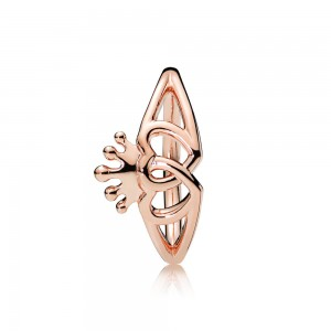 Pandora Ring United Regal Hearts Rose Jewelry