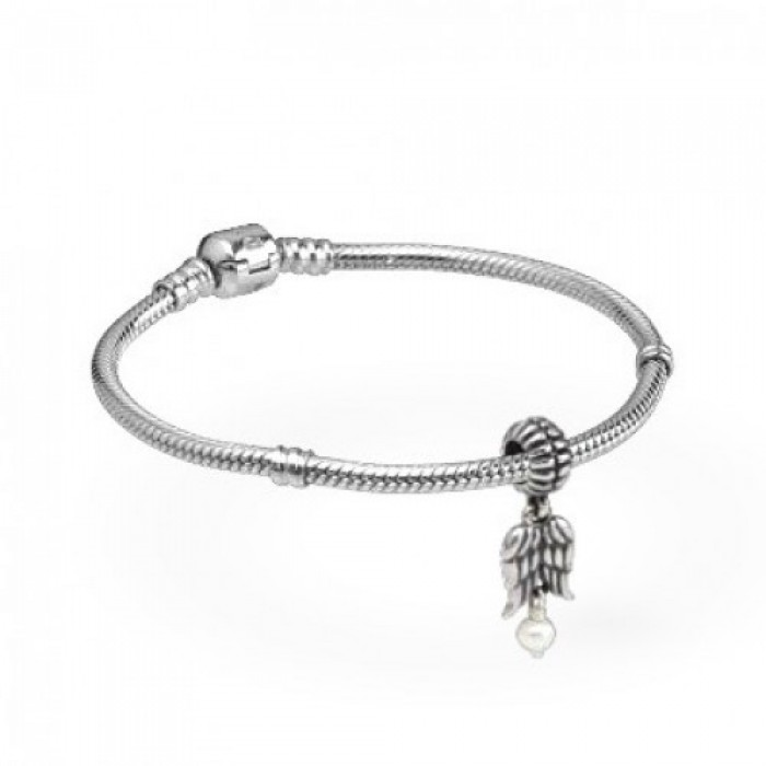 Pandora Bracelet Angel Wings Angels Complete Silver Jewelry