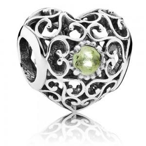 Pandora Bracelet August Birthstone Complete Jewelry