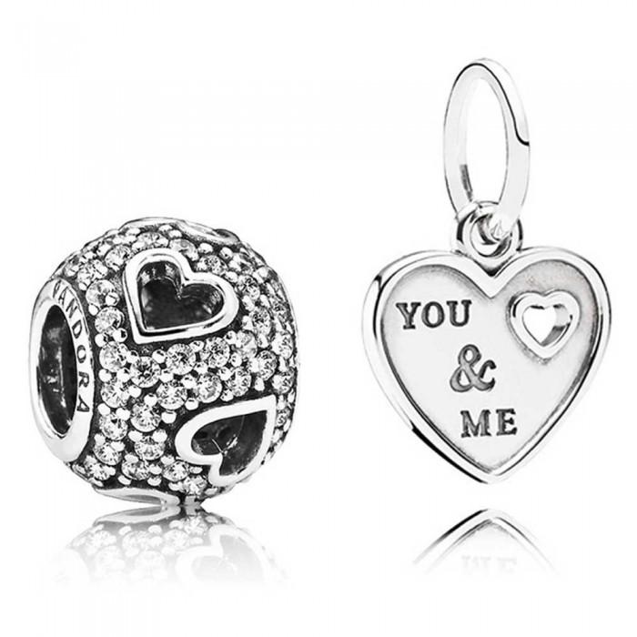 Pandora Charm You And Me Love Jewelry