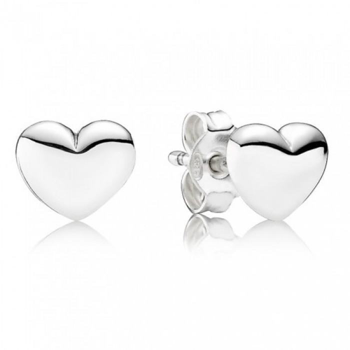 Pandora Earring Hearts Love Stud Jewelry