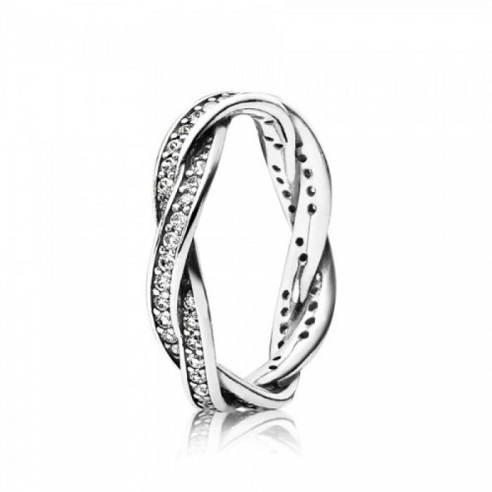 Pandora Ring Braided Jewelry