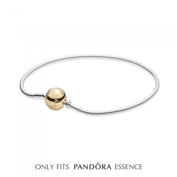 Pandora Bracelet Two Tone Jewelry