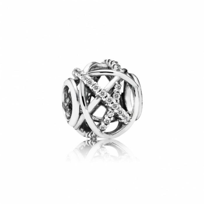 Pandora Charm Galaxy Clear CZ Jewelry