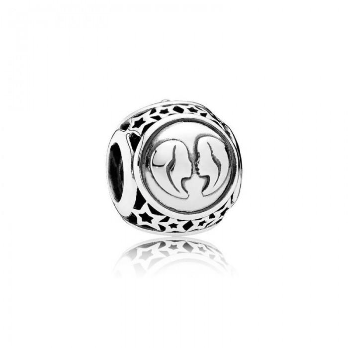 Pandora Charm Gemini Star Sign Jewelry