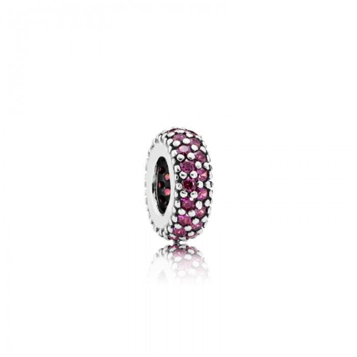 Pandora Charm Inspiration Within Spacer Red CZ Jewelry