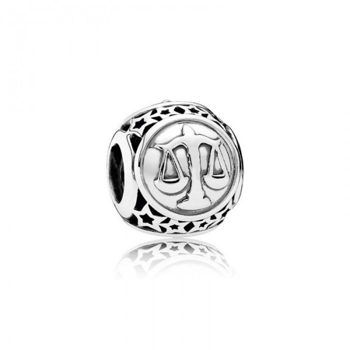 Pandora Charm Libra Star Sign Jewelry