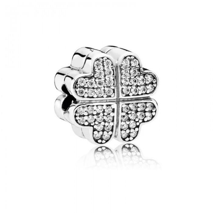 Pandora Charm Petals Love Clear CZ Jewelry