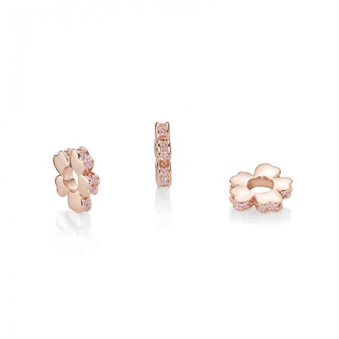 Pandora Charm Wildflower Meadow Spacer Rose Jewelry