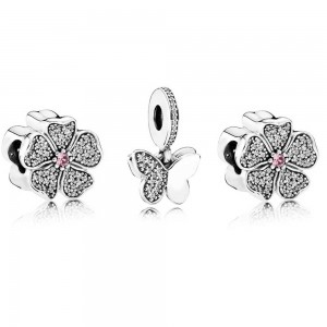 Pandora Charm Butterfly Blossom Butterfly Jewelry