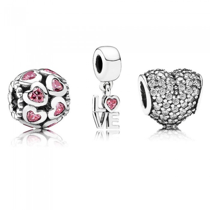 Pandora Charm Thought Of Love Jewelry