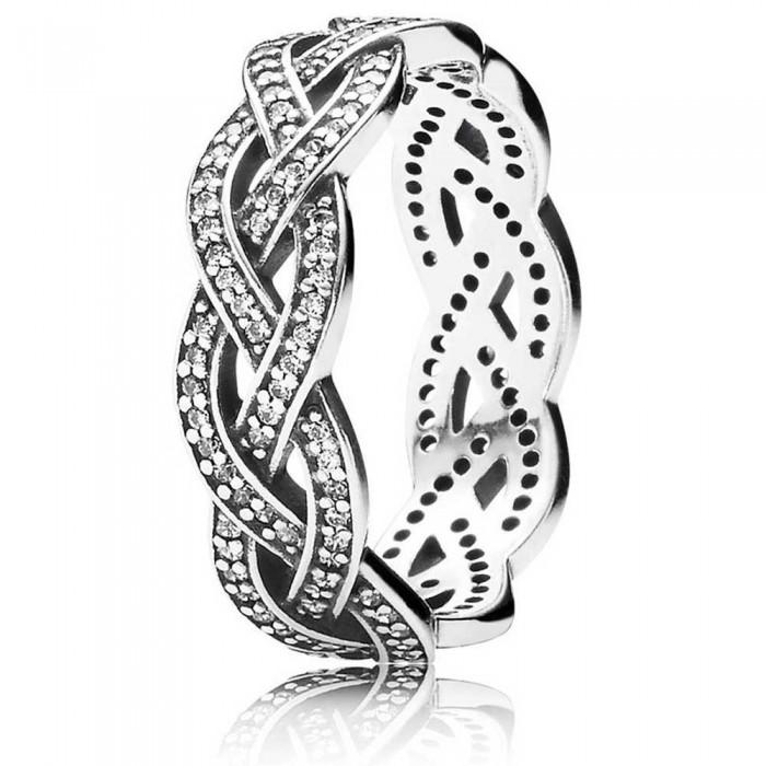 Pandora Ring Braided Band Jewelry