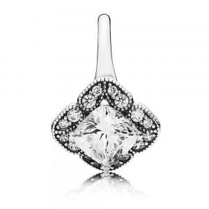 Pandora Ring Crystallised Floral Fancy Jewelry
