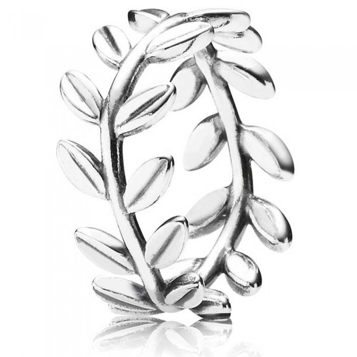 Pandora Ring Leaves Band Nature Jewelry