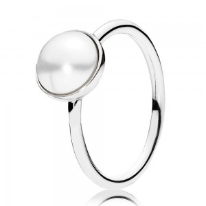 Pandora Ring Lustrous Droplet Jewelry