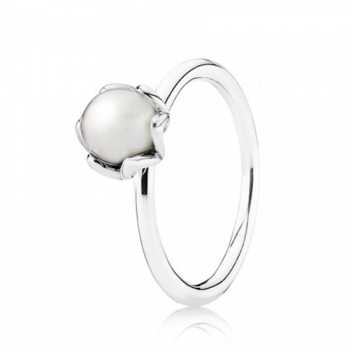 Pandora Ring White Freshwater Pearl Jewelry